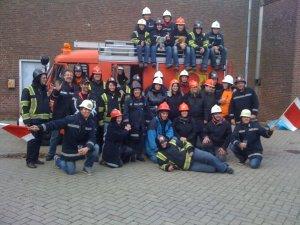 teambuilding veiligheidstraining brandweermiddag