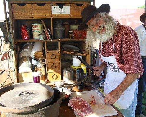 chuck wagon western cooking